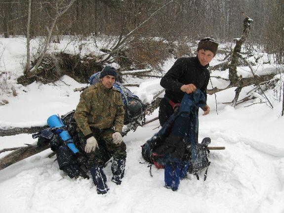 Снега – по колено и меньше
