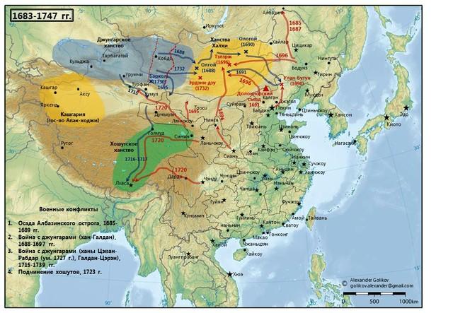 Войны Цинской империи во Внутренней Азии